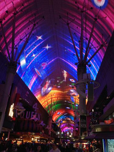 Fremont Street Experience, Las Vegas, NV.