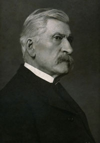 Photo portrait of Archibald Willard, restored (Schmitz family archives).